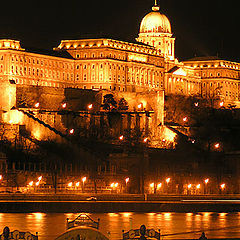 "photo ""Budapest. Royal palace."""