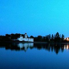 """фото """"Белая ночь, белый монастырь..."""""""