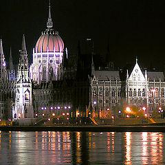 "photo ""Budapest. Parlament."""