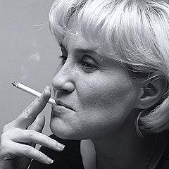 "photo ""Portrait with a cigarette"""