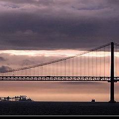 """photo """"Lisbon sunset"""""""