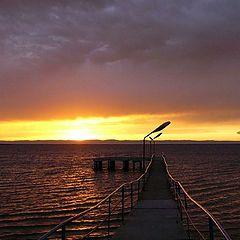"""фото """"Тихий закат на Байкале"""""""