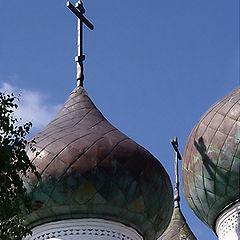 """photo """"Kargopol`s domes"""""""