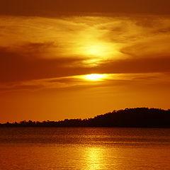 """photo """"Brazilian Sunset"""""""