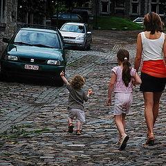 """фото """"Look mama, papa`s car"""""""