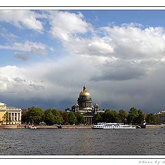 """фото """"Вид на Исаакиевский собор"""""""