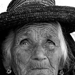 "photo ""the old lady prayer"""