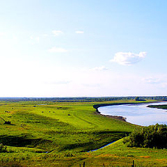 "photo ""Kamenka. Vew from the hill"""