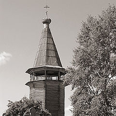 "photo ""Сountry churchyard"""