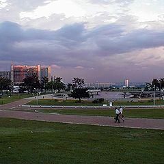 """photo """"Brasilia Tormentosa"""""""