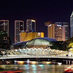 """фото """"Сингапурская ночь"""""""