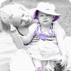 "фото ""Tending to the princess"""