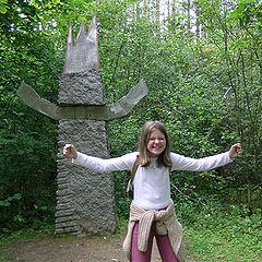 """фото """"I`m a statue !"""""""