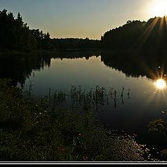 """фото """"Double sunrise."""""""
