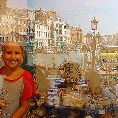 """фото """"mirror image in Venezia"""""""