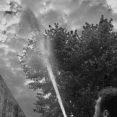 "фото ""Поливая облака"""