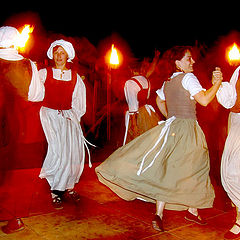 "photo ""Ancient dance at light of torches"""
