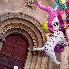 """фото """"balloons at Salamanca"""""""