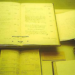 """photo """"Pushkin`s manuscripts"""""""