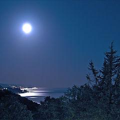 """фото """"В ночь осеннего полнолуния"""""""