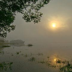 "фото ""Туман на Волге"""