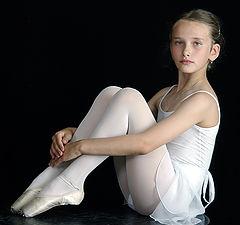"""фото """"Быть балериной. Сосредоточенность"""""""
