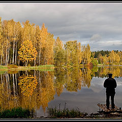 """фото """"Fishing for reflections (color)"""""""