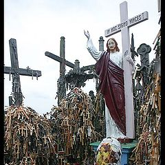 "фото ""The Hill of Crosses is a Lithuanian Golgohta"""