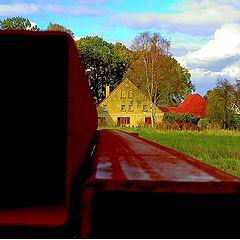 "фото ""Red steel..."""