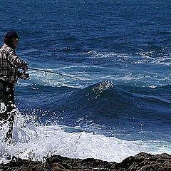 "фото ""Fishing waves"""