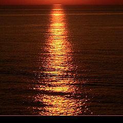 """photo """"Sunset from Denmark"""""""