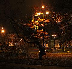 """фото """"Осенний сквер"""""""