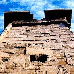 "фото ""The ancient sky (Temple of Karnak, Egypt)"""