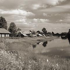 """photo """"Chur`yega river"""""""