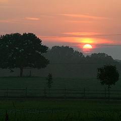 """photo """"sunset-Virginia"""""""