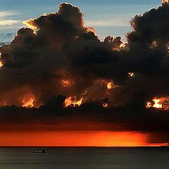 """фото """"Sunrise in Panama Coast"""""""