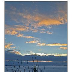 "фото ""Evening in turn blue"""