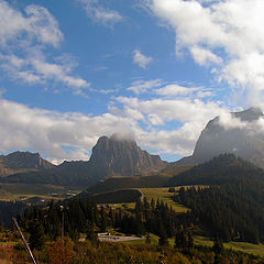 """фото """"Осень в горах. Gurnigel.Швейцария."""""""