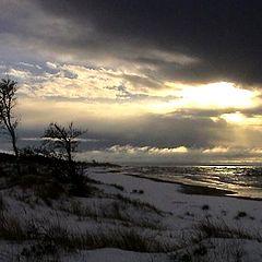 """фото """"the evening on the beach III"""""""