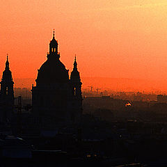 """фото """"Sunset in Budapest"""""""