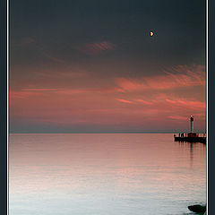 "photo ""Moonrise on the Bay"""