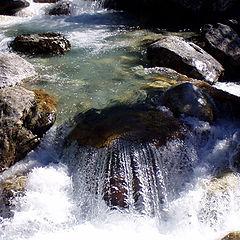 """фото """"Вода и камень"""""""