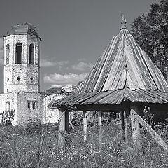 "photo ""Osheven monastery`s ruins"""