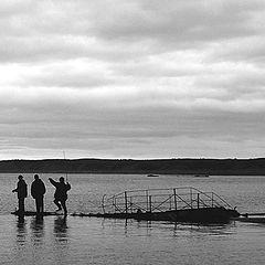 """фото """"ночная рыбалка"""""""