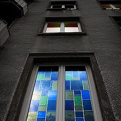 """фото """"Окна, холодные и разные."""""""