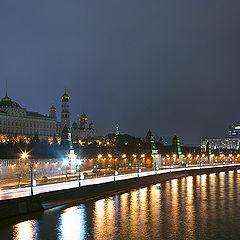 """фото """"Москва. Кремль. Ночь."""""""
