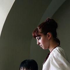 "photo ""Maiden near a window"""