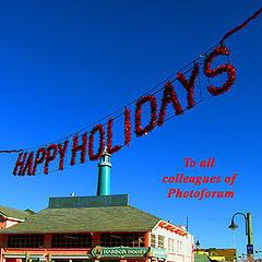 """фото """"Happy Holidays"""""""
