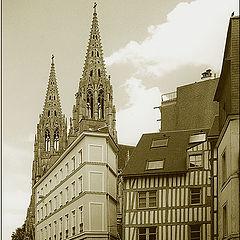 """photo """"Old Rouen"""""""