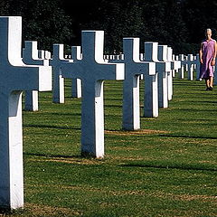 "photo ""American cemetery"""
